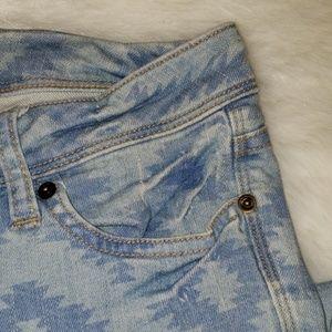 life in progress Jeans - Aztec Print Denim Jeans